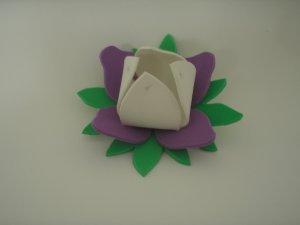 Flor em E.V.A com molde