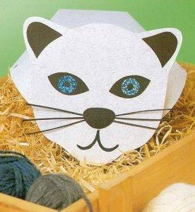 Chapéu de Animais - com molde