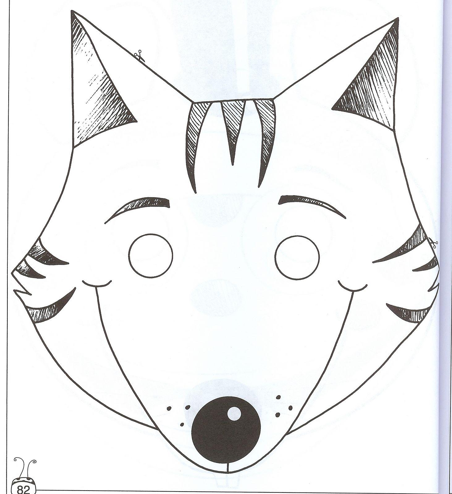 Оригинальные маски своими руками из бумаги 26