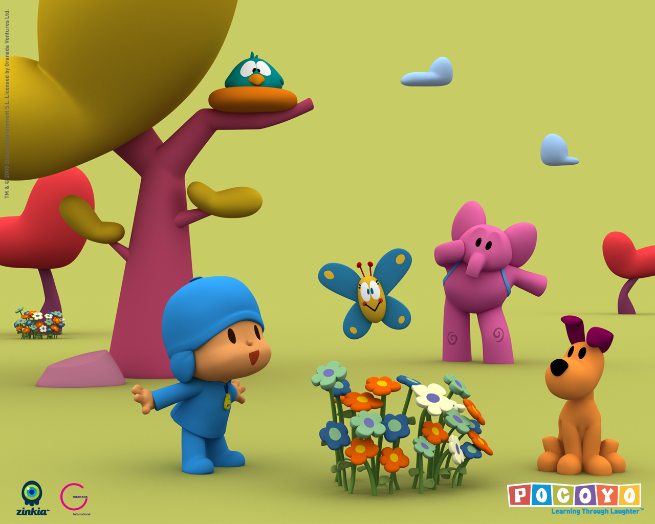 pocoyo pictures wallpapers