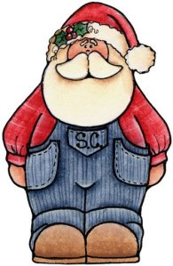 Papai Noel com outras roupas