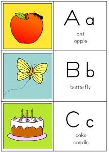 Alfabeto Ilustrado em Inglês